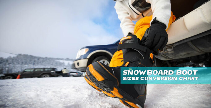 Snowboard Boot Sizes Conversion Chart