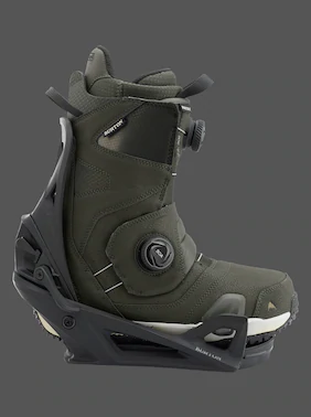 burton step on boots & bindings
