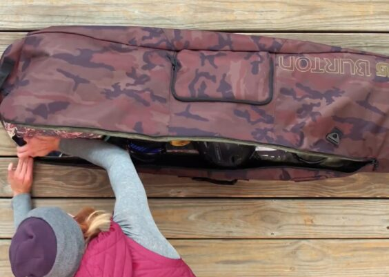 How to Pack a Snowboard Bag