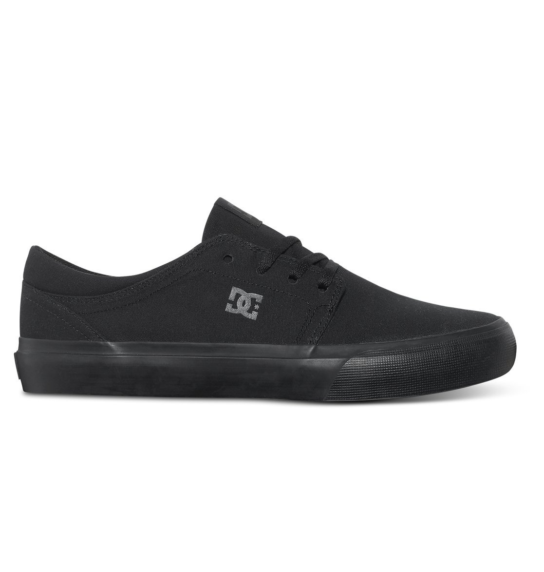 DC Women's Trase TX Skate Shoe Black, 4 D D US