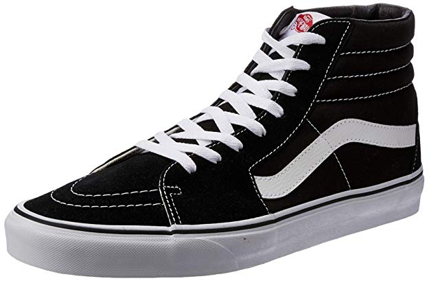 VANS Sk8-Hi Unisex Casual High-Top Skate Shoes