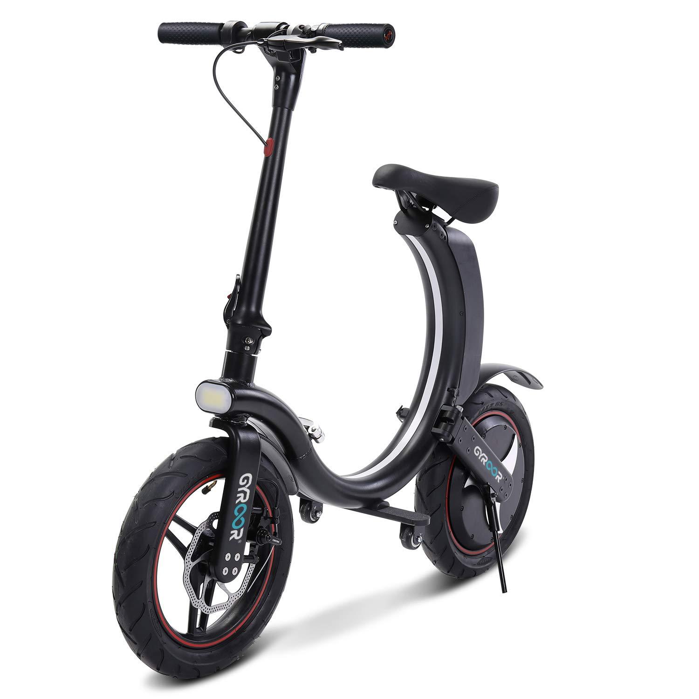 Gyroor 450W Folding Electric Bike