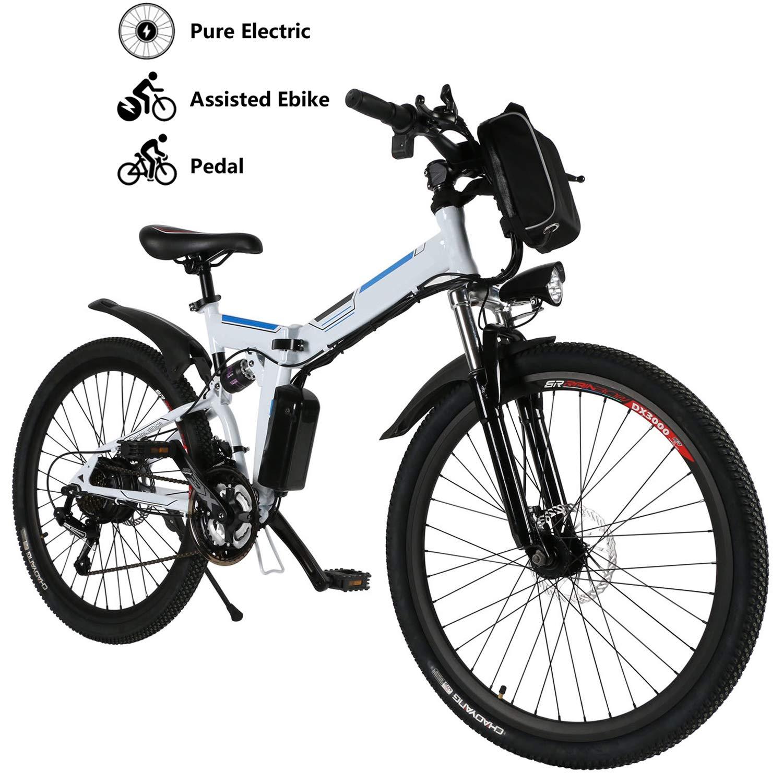 """Yiilove Electric Bicycle 26"""" Electric Mountain Bike"""