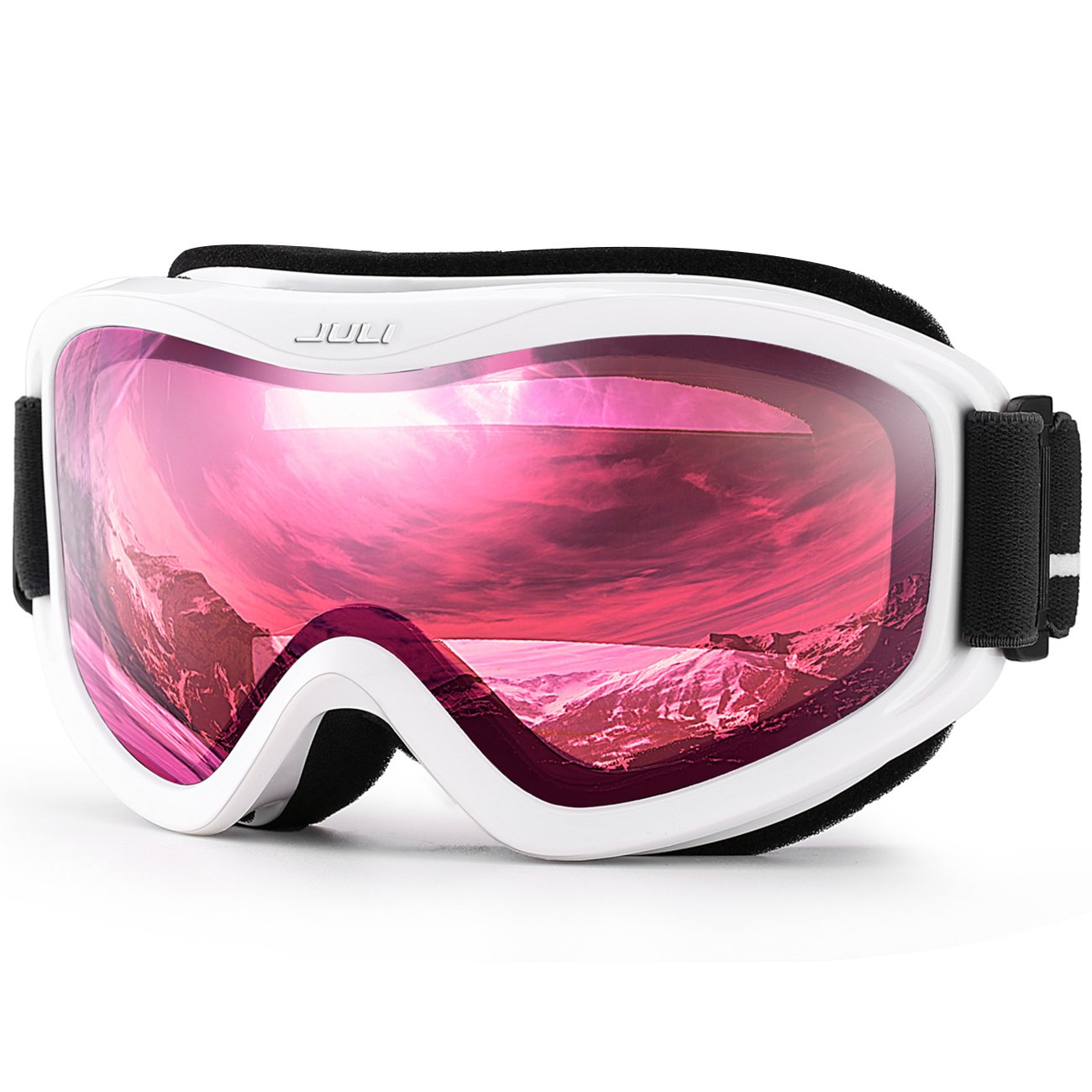 Juli Snowboard Goggles with Anti-Fog UV Protection