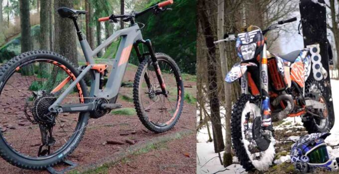 dirt bikes and electric bikes