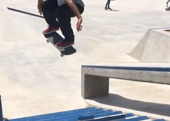 Overcome fear while skateboarding