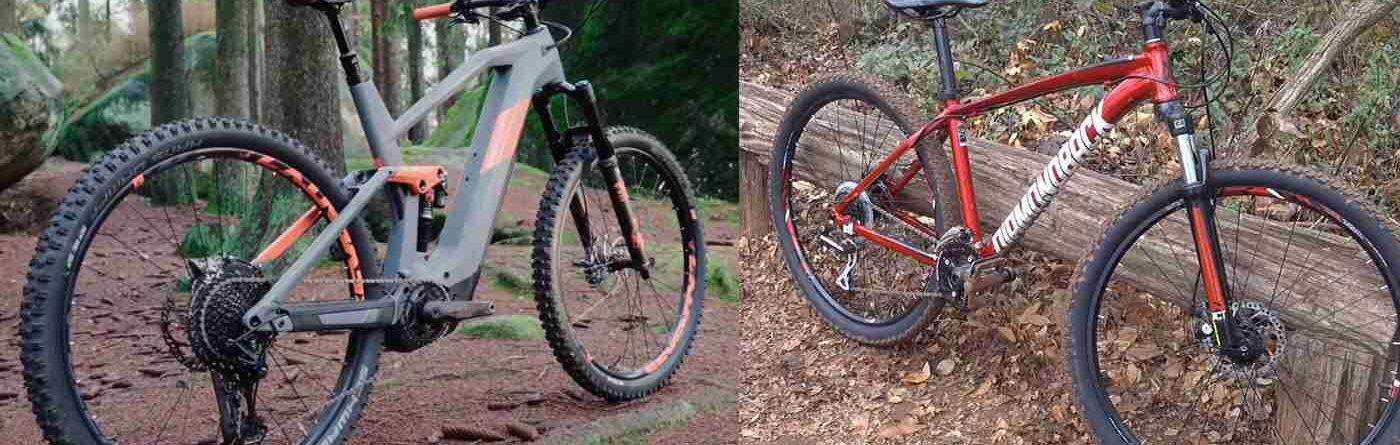 Electric Mountain Bike vs. Traditional Mountain Bike