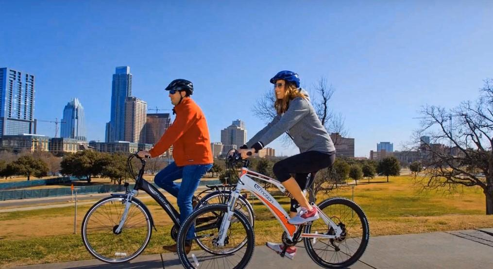 Riding an Electric Bike
