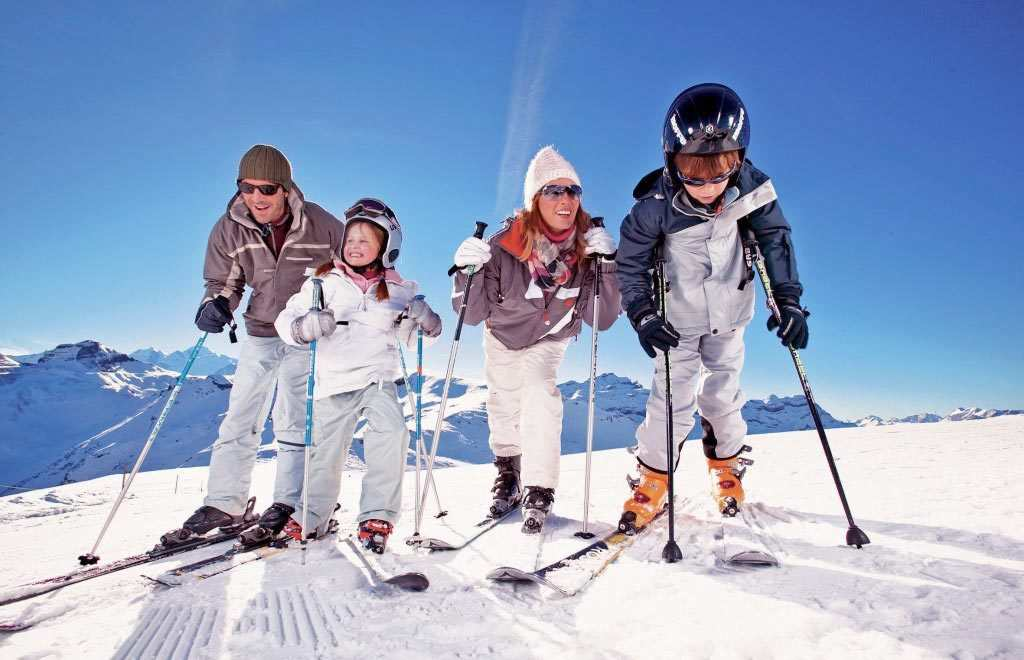 best place for family skiing
