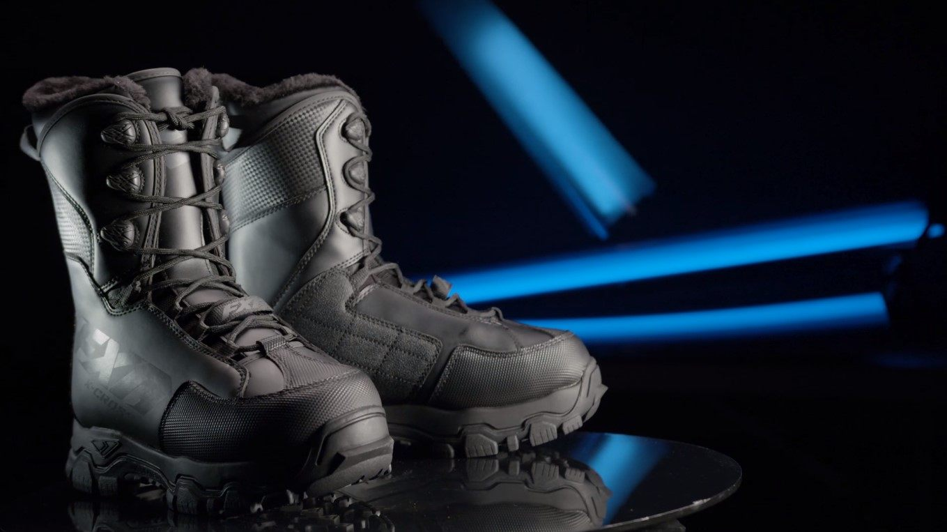 Snowmobiling boots