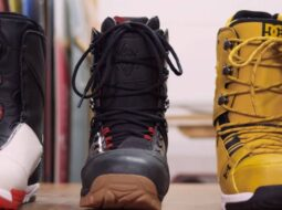 Types of snowboard boots